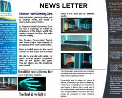 NEWS LETTER-sherton hotel